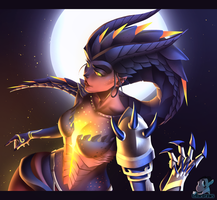 Overwatch - Symmetra [Dragon] by IzharDraws