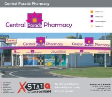 Central Parade Pharmacy logo by eRiQ