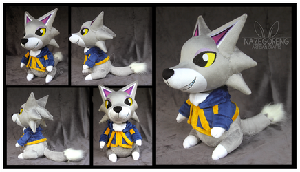 Fang Custom Plush by Nazegoreng