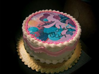 My Little Pony Birthday Cake by Dragon620026