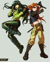 Comm: Kim and Shego by Soap-Committee
