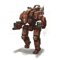 Mech by shinypants