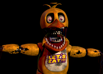 Withered Chica v4 by Spinofan10