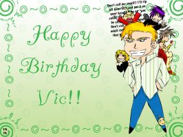 Happy Birthday Vic by trinityrenee