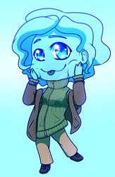 Chibi Cloudy by CloudyVoids