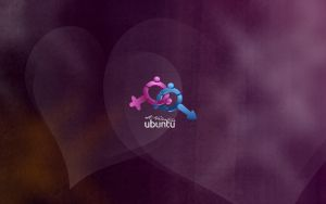 Ubuntu Valentine wallpaper by petrsimcik