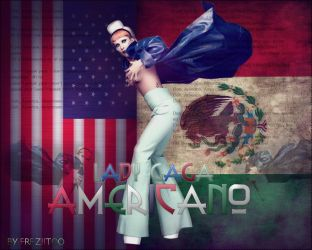 Lady Gaga AMERICANO by Freziitoo