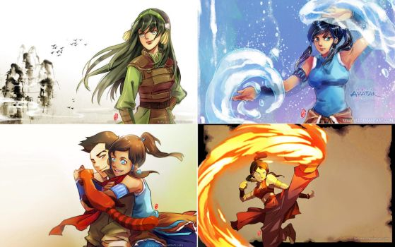 ATLA/LOK_Wallpaper Collection by kelly1412
