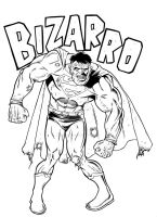 Bizarro by angryrooster
