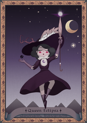 Queen Eclipsa, a Revised Tapestry by theawesomeidea