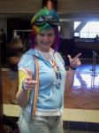 Rainbow Dash with Goggles by MariSanomaFanFic