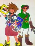 Sora And Link by AnimeLoveCouples456