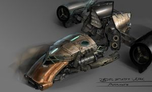 Good, trusted Sci-Fi Vehicle by TED-MX