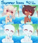 [OPEN] Summer Icon Commissions by WanNyan
