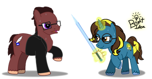 Learning to Sword-fight from Brawny Buck by A-Bright-Idea
