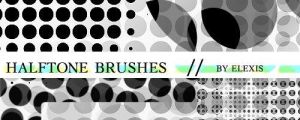 Halftone brushes - By Elexis by elexis6