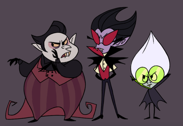 Vampire brothers by JaneGumball