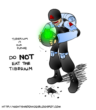 Please do not eat the Tiberium by NightShadow02