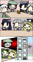 Touhou characters by Hat-Warrior-999