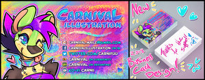 2018 Business Card update! by carnival