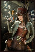 Steampunk by MADmoiselleMeli