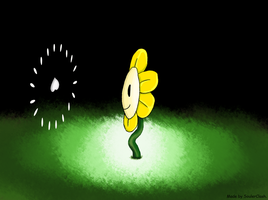 Flowey attacking a Soul! by SoulerClash