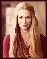 Cersei Lannister by AragornArathornion