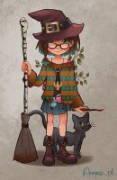 My Witchsona by Anako-ART