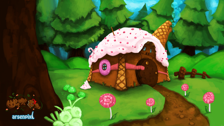 Candy House by XLordAndyX