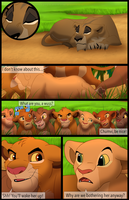 Mufasa's Reign: Chapter 1: Page 1 by albinoraven666fanart