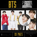 PACK PNG'S BTS by wiintermoon