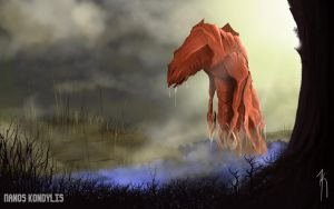 Monstrous Lake by panos134fx