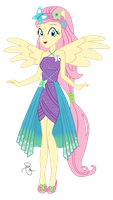 EQG - Fluttershy Pony Up by ilaria122