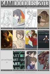 2013 Summary of Art by kamidoodles
