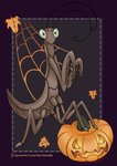 Mantis - Happy Halloween by The-Nunnally