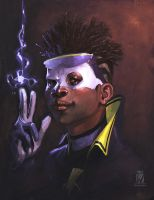 Static Shock by Wilustra