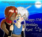 Happy 17th Kari by artisticTaurean