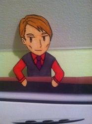 Hannibal Lector Paperchild by sures1109