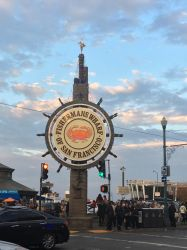 San Francisco Fishermans Wharf sign by sfgiants58