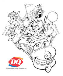 Dairy Queen Poster proof by BobGuthrie