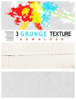3 GRUNGE textures by caotiicah