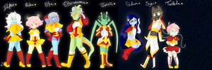 Alien Cadets by Artist-squared