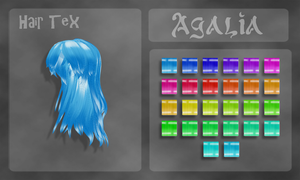 hair texture pack 2 by OurHeartsRhythm