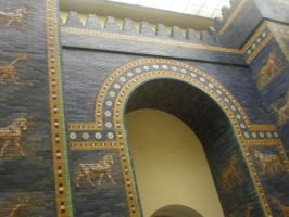 Ishtar Gate by Kooskia
