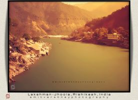 -The Peace-  Lakshman Jhoola, Rishikesh, India by iAmitVarshney
