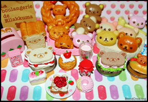 Rilakkuma Dessert Dinner by BloodCross