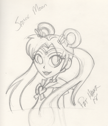 Sailor Moon Sketch by wis13