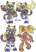 Minx and Mumble by Shenaniganza