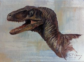 Study of JP1 Velociraptor Head by cheungchungtat