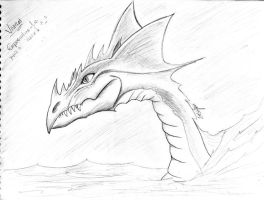 Water Dragon by xsonic